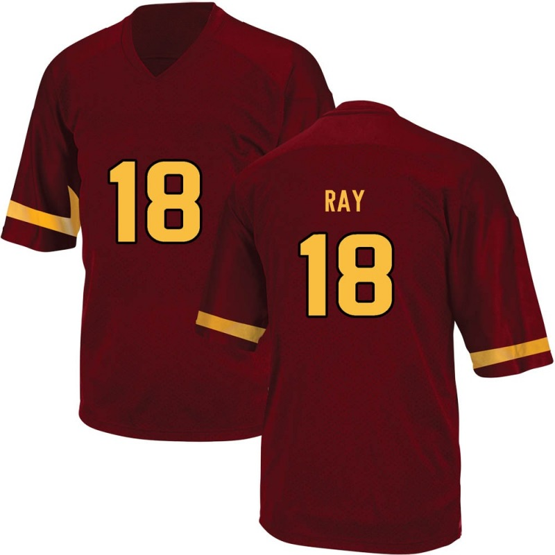 Game Men's Jake Ray Arizona State Sun Devils Maroon Football College Jersey